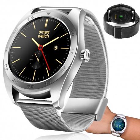 Išmanusis laikrodis su širdies ritmo matuokliu H01